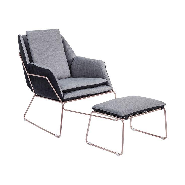Space Armchair + Stool • WOO Design