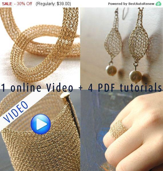 Black Friday Sale Jewelry making PDF pattern combo by Yoola
