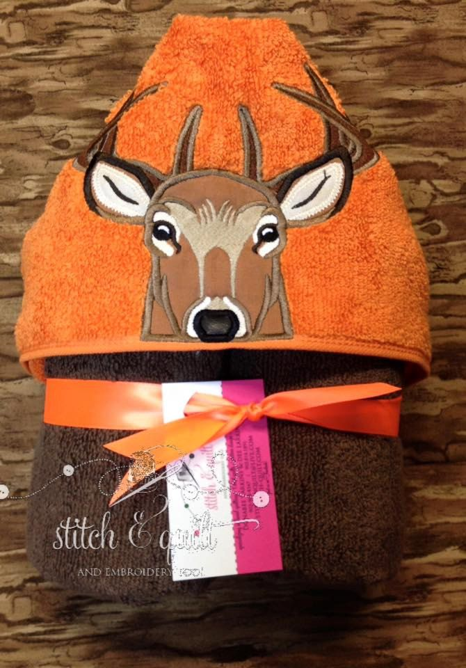 Buck Deer hooded towel, Hunter hooded towel, Deer, Buck Deer, Boy's hooded towel. Camo, Birthday Towel, Hunting towel, Hunting by StitchandQuilt on Etsy
