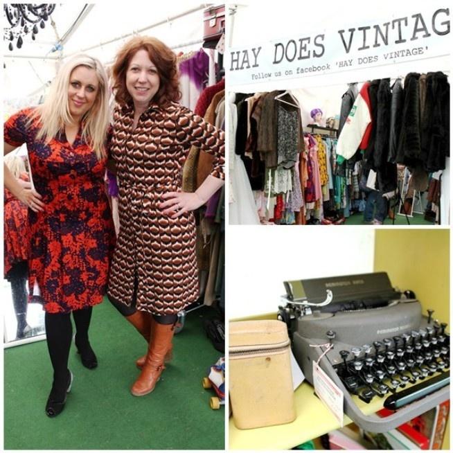 Oxfam #Fashion at Hay Festival 2013 | Fashion blog | Oxfam GB #HayFestival2013 #Literature #Books #Vintage Hay-on-Wye