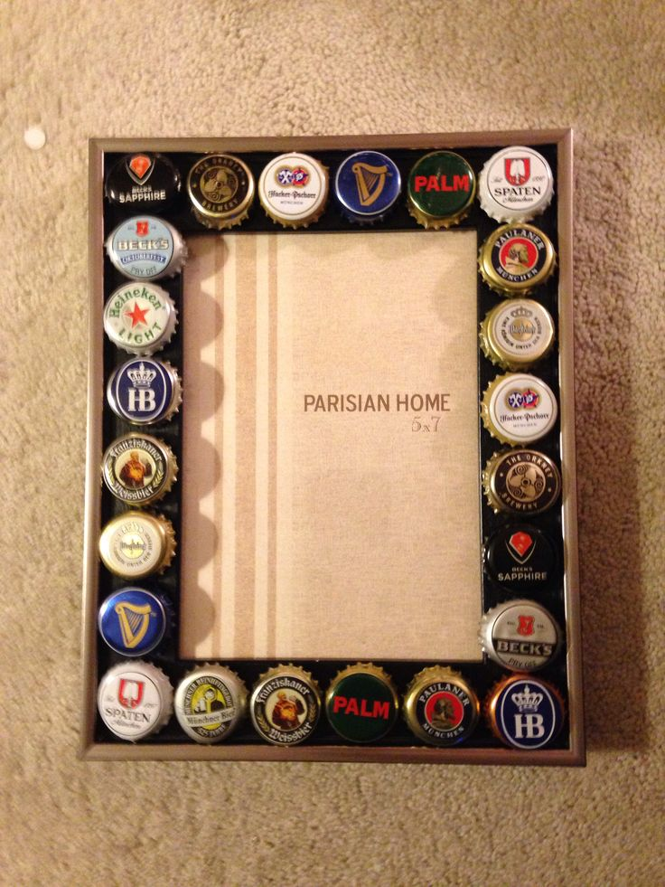 17 best images about boyfriend crafts on pinterest for Beer bottle picture frame