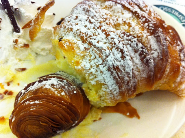 Part of a GIANT Lobster Tail pastry, also from Ferrara. Queue De Homard  PâtisserieQueues