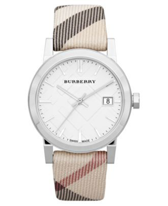 Burberry Watch, Women's Swiss Nova
