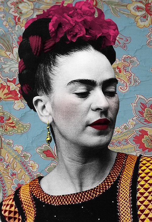 Frida Kahlo, artwork by Noha Elfeqi