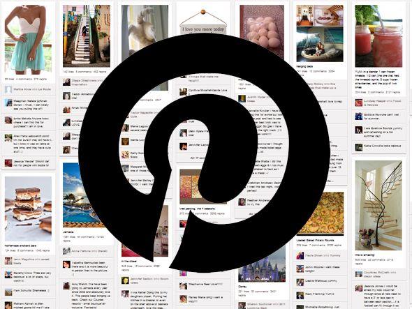 Site opera como um painel para pendurar fotos belas