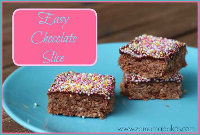 Easy Chocolate Slice Feature
