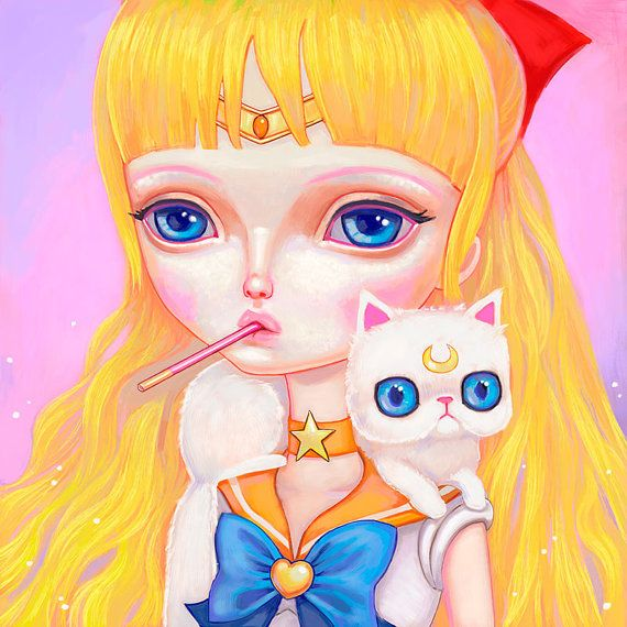Sailor Venus by Melanie Schultz