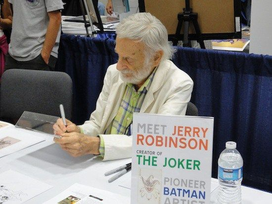 Jerry Robinson at 2011 San Diego Comic-Con.