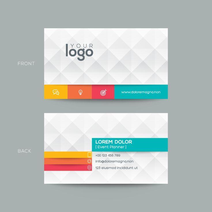 Byteknight Designs Simple Visiting Business Card Design
