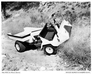 4 Seater Atv >> 1968 Pug ATV Truck Bruce Manufacturing Factory Photo C3142 ...