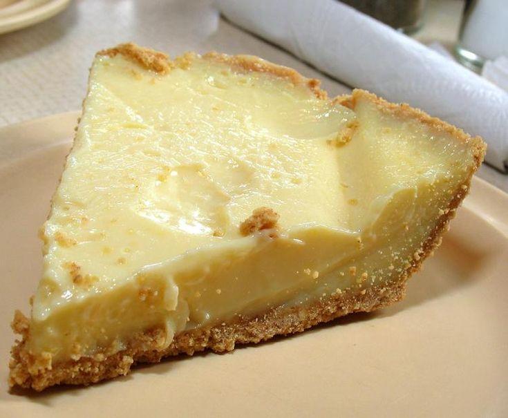 Roadfood.com - Recipes - Lemon Icebox Pie