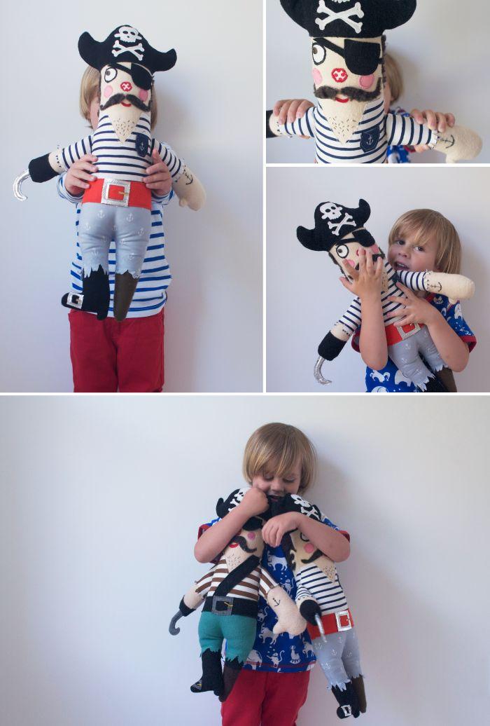 pirate doll tutorial