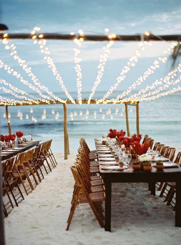The most idyllic beach wedding weddings pinterest red flowers the most idyllic beach wedding weddings pinterest red flowers beach weddings and flowers junglespirit Image collections