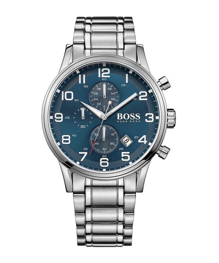 43 % off - Hugo Boss Aeroliner stainless steel watch, Designer  Sale, Outlet, SECRETSALES