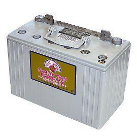 Real Goods sealed gel deep-cycle batteries