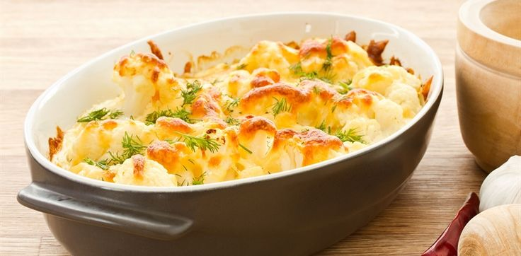 cheese cauliflower bake