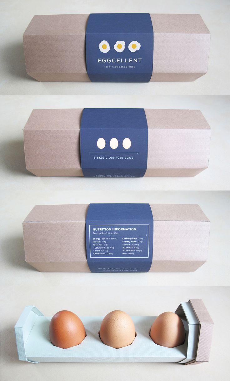 An egg packaging that provides a worry-free experience for customers.