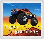 Monster Truck Edible Icing Image 14 Sheet *** Check this awesome product by going to the link at the image.(This is an Amazon affiliate link and I receive a commission for the sales)