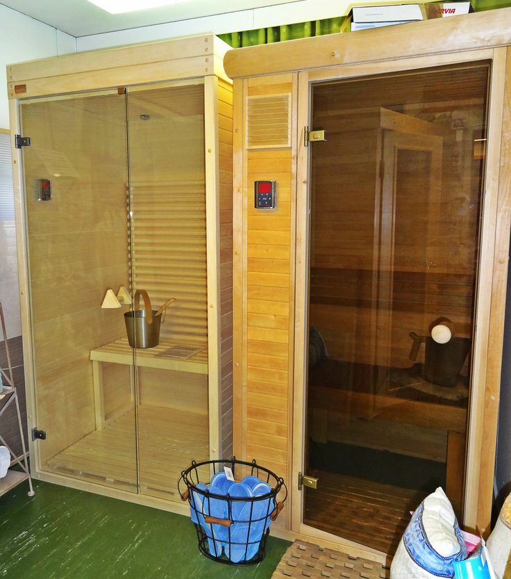 Infrared saunas in factory shop. Come to try them!  www.saunalahja.fi