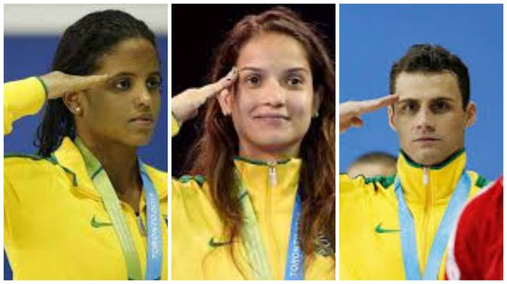 São militares 1/3 dos atletas olímpicos brasileiros