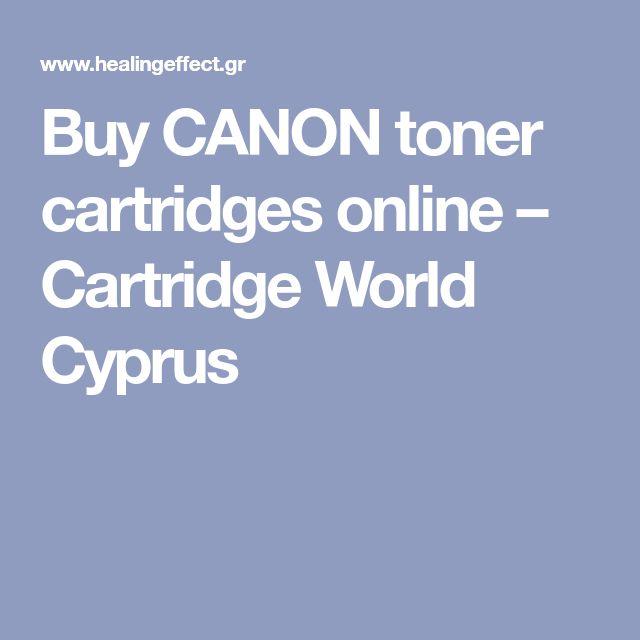 Buy CANON toner cartridges online – Cartridge World Cyprus