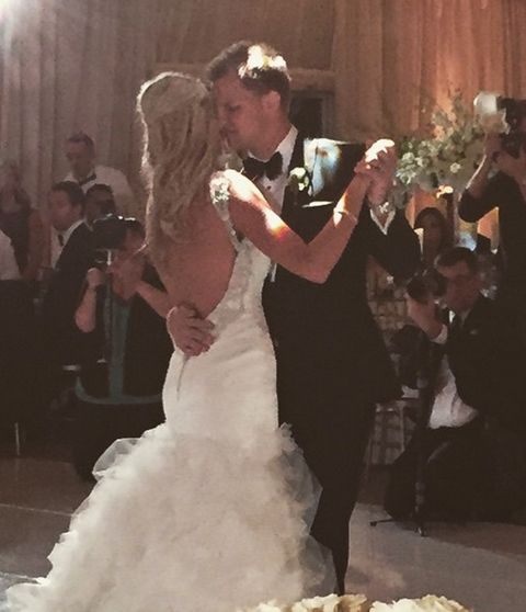 Bears QB Jimmy Clausen Marries Hot Volleyball Star ... NFL Stars Attend - Jess Gysin