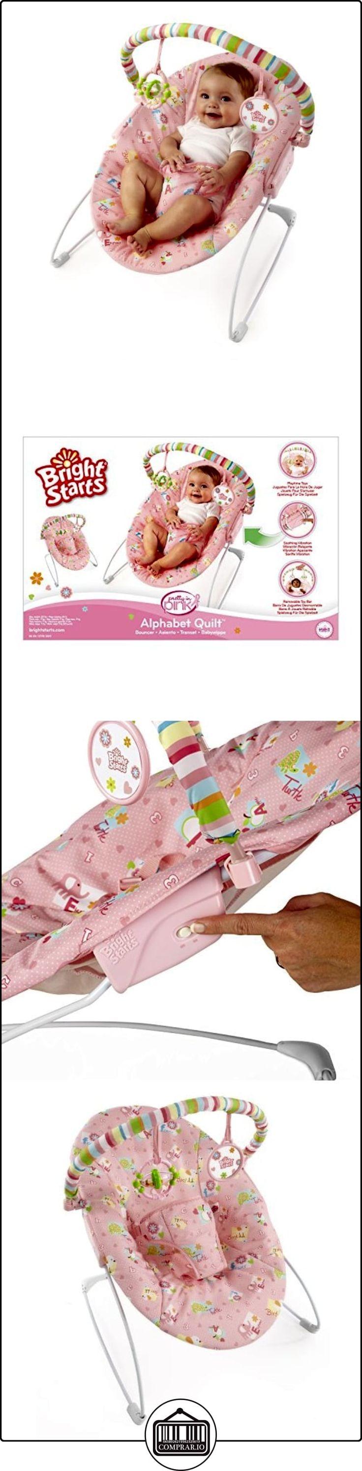 Bright-Starts - Hamaca de bebé Bright Starts Alphabet Quilt rosa  ✿ Regalos para recién nacidos - Bebes ✿ ▬► Ver oferta: http://comprar.io/goto/B007ZOKAKE