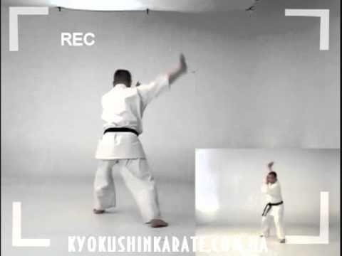 Pinan Sono Ni - Kata Kyokushin Karate (+плейлист)
