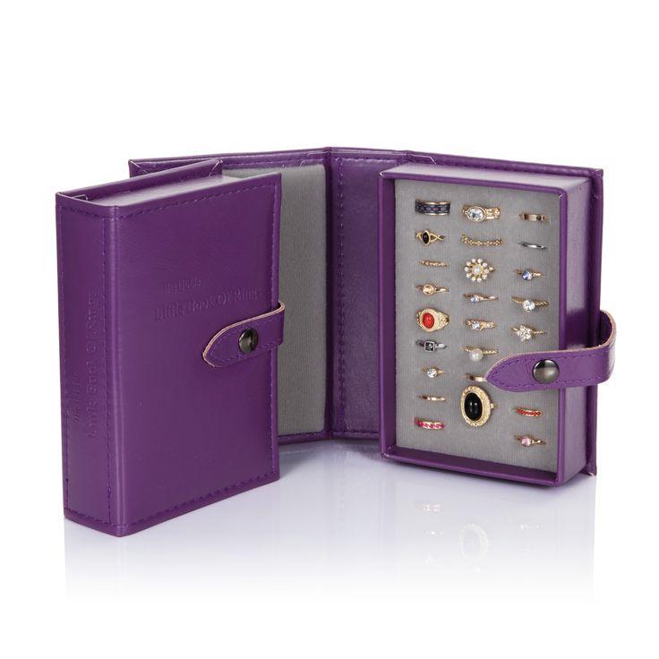Little Book of Earrings - Purple