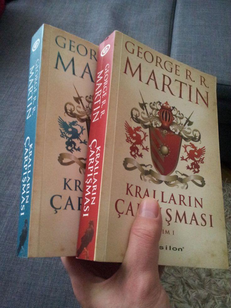 Kralların Çarpışması(2 kitap) - George R.R. Martin  Buz ve Ateşin Şarkısı Serisi 2. kitap