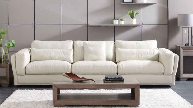 Cameo 3 Seater Leather Sofa - Lounges - Living Room - Furniture, Outdoor & BBQs | Harvey Norman Australia