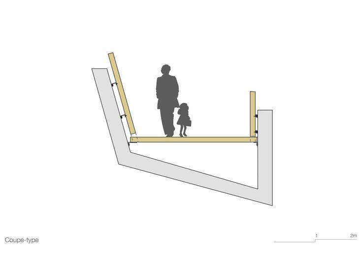 Galería de Puente peatonal La Sallaz / 2b architectes - 14