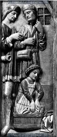 Geburt Christi Dieses Bild: 002256 1461 ; 1466 ; Tamsweg ; Österreich ; Salzburg ; Wallfahrtskirche St. Leonhard