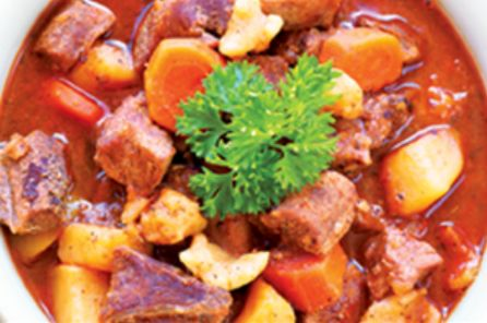 Hungarian-Style Beef Goulash from #YummyMarket