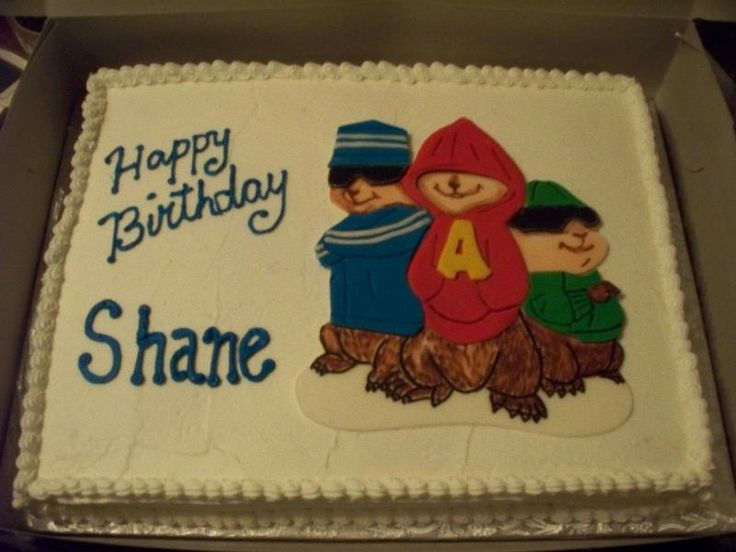 Alvin And The Chipmunks Birthday Cake: 17 Best Images About Cakes