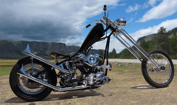 harley davidson choppers | 1950 harley davidson chopper submitted by mr scratch