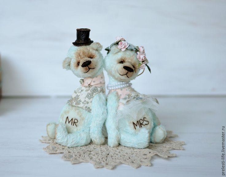 Шьем свадебную пару мишек «Вместе навсегда» - Ярмарка Мастеров - ручная работа, handmade