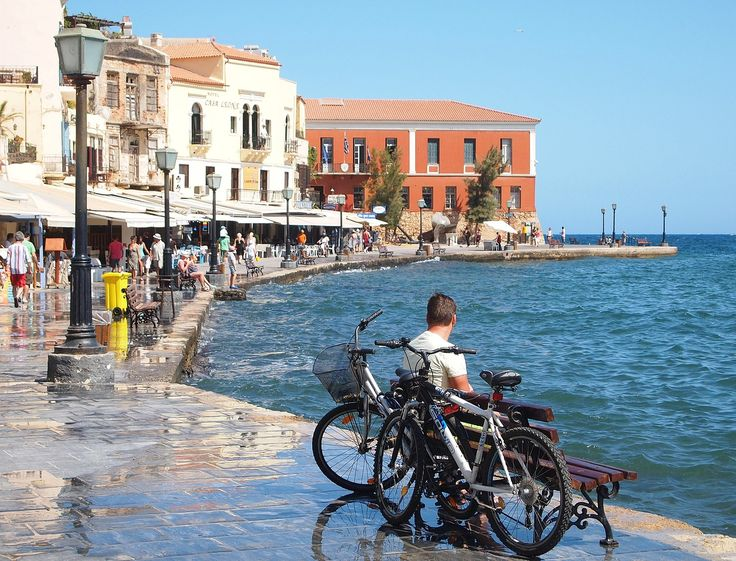 Old port of Chania, Crete island | Greece
