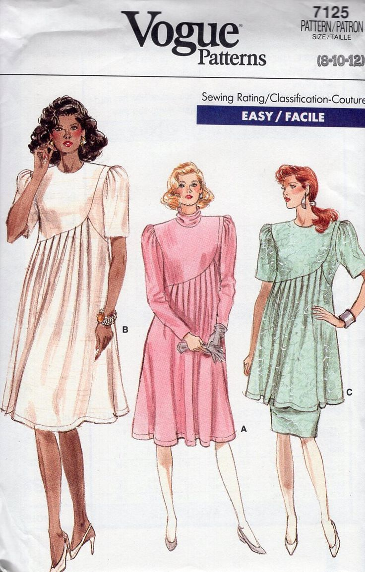 17 best maternity fashion vintage patterns images on pinterest free us ship sewing pattern vogue 7125 vintage retro maternity dress tunic skirt size 8 10 12 bust 34 uncut by lanetzliving on etsy ombrellifo Images