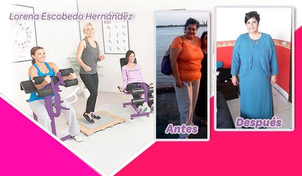 #HistoriaDeÉxito ¡Checa el cambio de nuestra #curvera Lorena Escobedo! ¡Ha logrado avances saludables y va por más! 👏https://goo.gl/UI6hmN