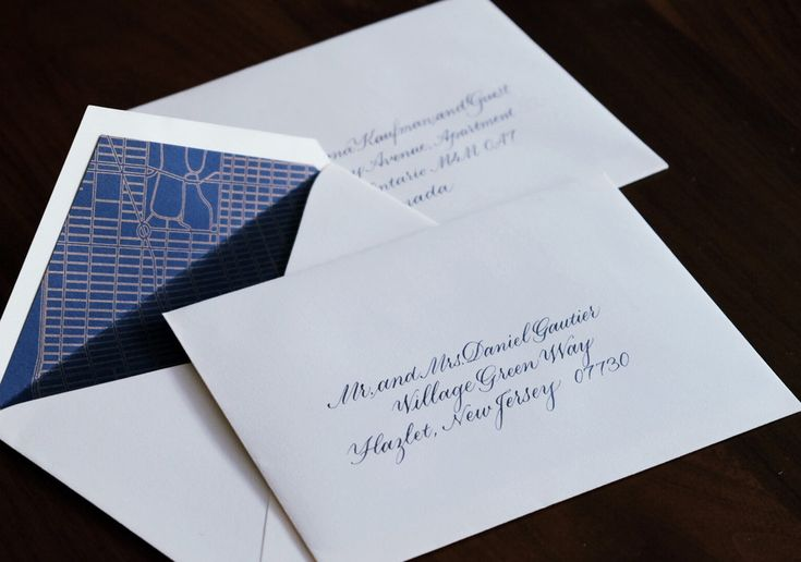 Best 25 Calligraphy Envelope Ideas On Pinterest