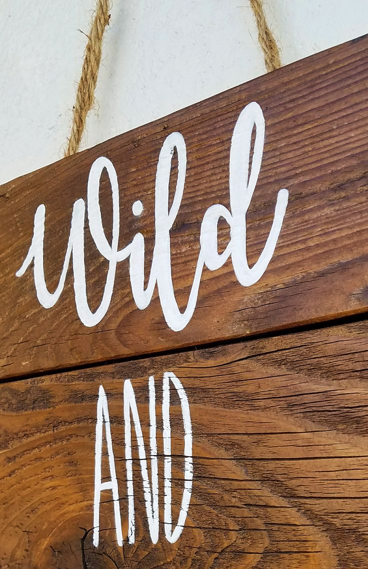 Wild and Free wood sign,  Wood Signs, Rustic Sign, Rustic Wood Sign, Inspirational Quotes, Rustic Home Decor, Wild and free sign, Custom Wood Sign, Country house decor , Farmhouse style, wood crafts , wood diy , Home Decor , Rustic Wall hangings , Rustic style , gift idea , wooden sign with saying #woodsign #reclaimwood #homedecor #etsy #etsyseller #homemade #housewarming #farmhousedecor #quotes