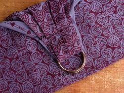 Roses Beaujolais Ring Sling | Oscha Slings