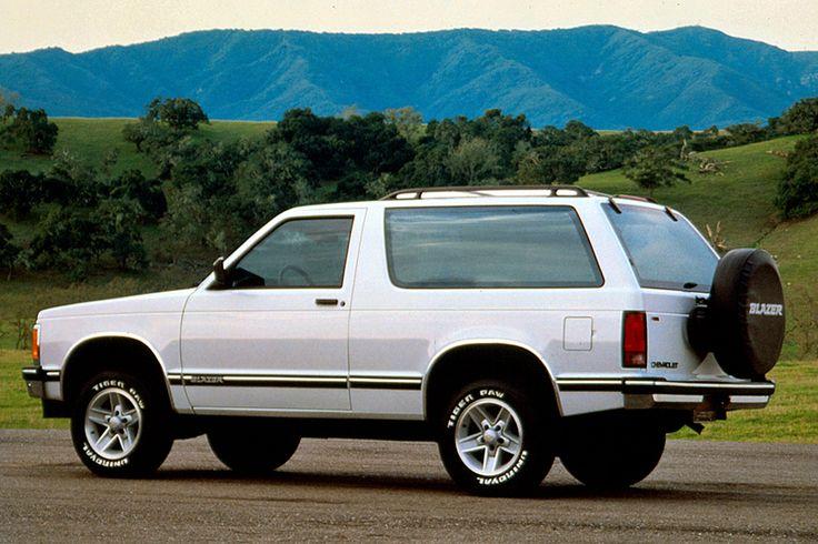 199094 Chevrolet S10 Blazer Gmc trucks, Chevy