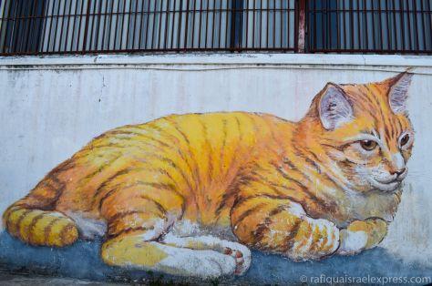 Street art in George Town, Malaysia  http://rafiquaisraelexpress.com/2014/07/13/street-art-in-malaysia/