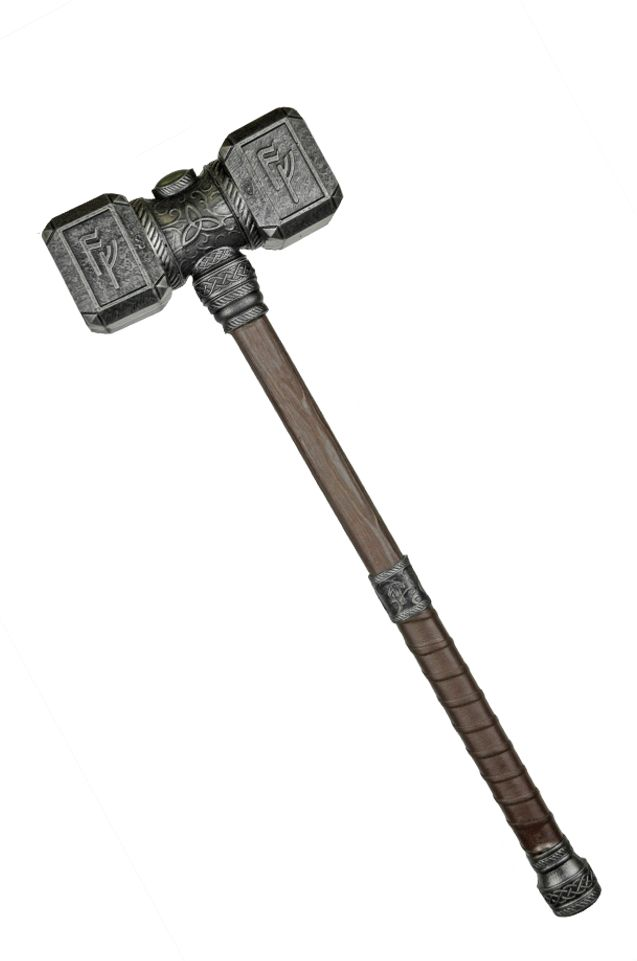 Dorgen, The Dwarf's Hammer - Calimacil LARP Hammer