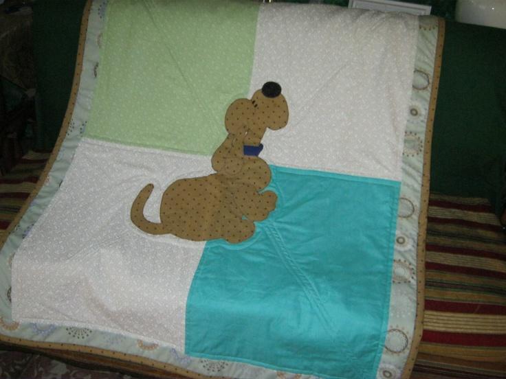 Edredón pequeño de perrito