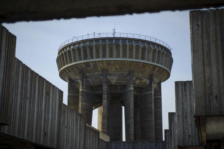 Egyedi tervezésű víztorony a debreceni Víztorony utcában  Forrás: MTI/Czeglédi Zsolt