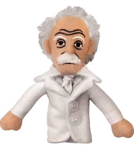Mark Twain Finger Puppet