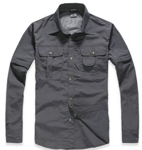 New-Mens-Outdoor-Fishing-Canoeing-Hiking-Camping-Hunting-Work-Long-Sleeve-Shirt